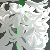 White Hyacinth Fine Art Print