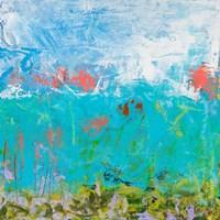 Cerulean Escapes II Fine Art Print
