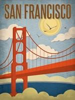 San Francisco - Golden Gate Bridge Fine Art Print