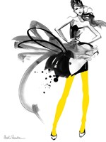 Yellow Tights Fine Art Print