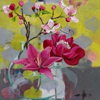 Apple Blossom Trio Fine Art Print