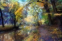 Autumn Walk Fine Art Print