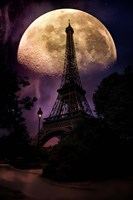 Moonlight in Paris Fine Art Print