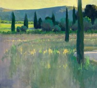 Evening at the Chateau Fine Art Print