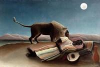 The Sleeping Gypsy, 1897 Fine Art Print