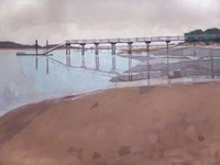 Morning Low Tide Fine Art Print