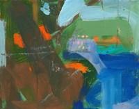 Blue Pool Fragment 3 Fine Art Print