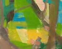 Lime Yellow Fragment 10 Fine Art Print