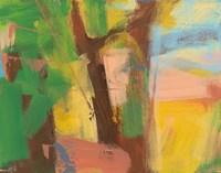 Peach Shore Fragment 5 Fine Art Print