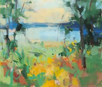 The Bluest Shore Fine Art Print