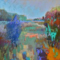 Color Field 45 Fine Art Print