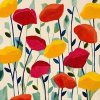 Cheerful Poppies Fine Art Print
