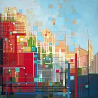Neighborhood 8 Meridian Fine Art Print