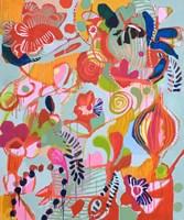 Femme Assise Fine Art Print