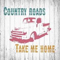 Country Roads Fine Art Print