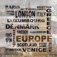 Europe Fine Art Print