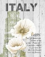 Italy Poppies Fine Art Print