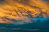 Golden Clouds Fine Art Print