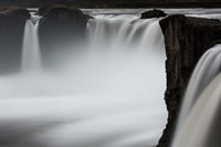 Waterfall Mist Fine Art Print