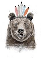 Festival Bear Fine Art Print