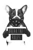 Rebel Dog Fine Art Print