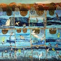 Blue Island Fine Art Print