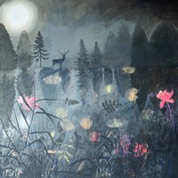 Moonlit Moment Fine Art Print