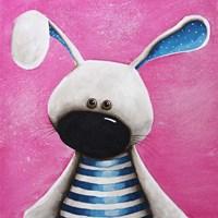 The Blue Bunny Fine Art Print