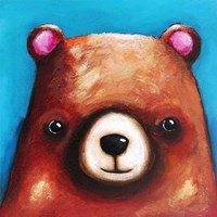 The Brown Bear Fine Art Print