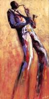 Sax Solo Fine Art Print