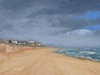 Beach Houses and Surf Fine Art Print