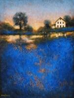 Blue Fields Fine Art Print