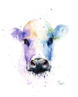 Abstract Cow Fine Art Print