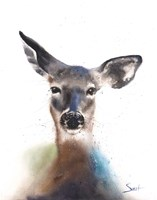 Deer Watercolor Fine Art Print