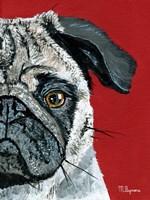 Pug a Boo Fine Art Print