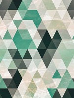 Triangle Pattern Fine Art Print