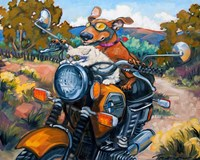 Have Dog Will Travel Fine Art Print