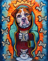 Our Lady of Perpetual Dog Biscuits Fine Art Print