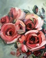 Amid Scent of Roses Fine Art Print
