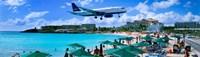 Happy Landings on St. Maarten Fine Art Print