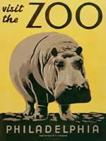 Visit the Zoo Fine Art Print