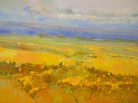 Field of Yellow Flowers Fine Art Print