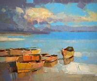 Fishing Boats Fine Art Print