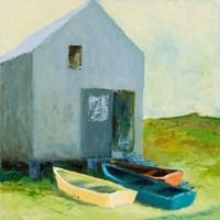 Boat House Fine Art Print