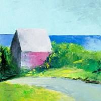 Pink House Fine Art Print