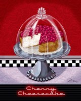 Cherry Cheesecake Fine Art Print