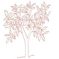 A Tangerine Tree Fine Art Print