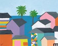 Beachfront Property 2 Fine Art Print