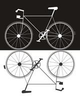 Two Bikes Fine Art Print