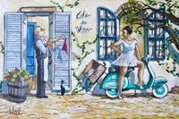 Runaway Bride Fine Art Print